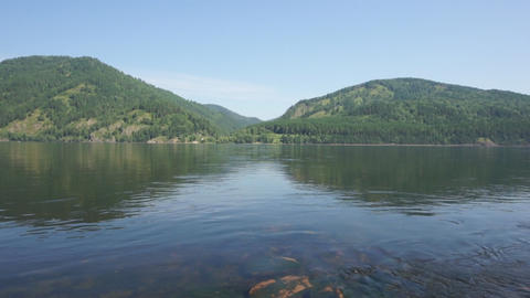 River Yenisei 06 Footage