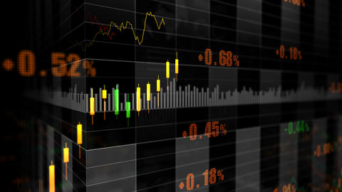 Stock Market trends 066 Animation