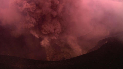 The Nyiragongo Volcano By Daylight In The Democrat stock footage