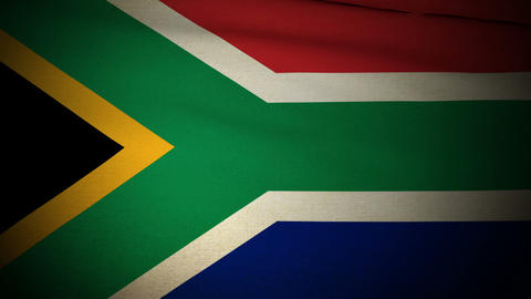 Flag South Africa 04 Animation