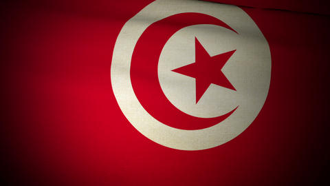 Flag Tunisia 04 Animation