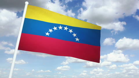 Flag Venezuela 02 Animation