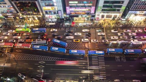 Seoul City 126 HD Stock Video Footage