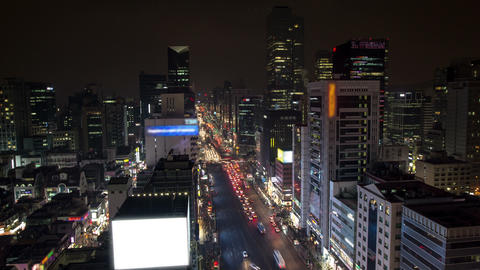 Seoul City 128 HD Stock Video Footage
