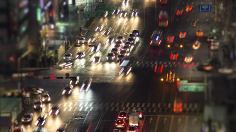 Seoul City 134 Zoom Stock Video Footage