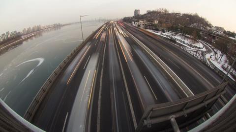 Seoul City 142 HD Stock Video Footage