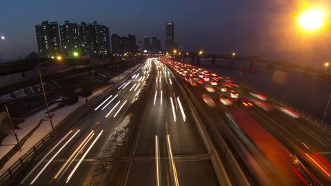 Seoul City 143 Zoom Footage