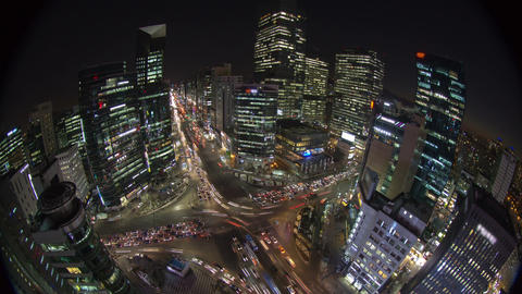 Seoul City 167 HD Stock Video Footage