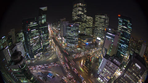 Seoul City 167 HD Stock Video Footage
