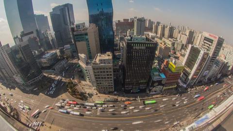 Seoul City 173 HD Stock Video Footage