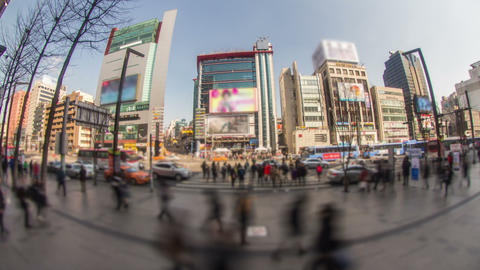 Seoul City 175 HD Stock Video Footage