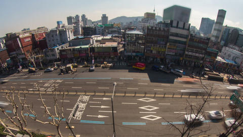 Seoul City 179 Zoom HD Footage