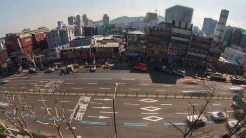 Seoul City 179 Zoom HD Footage