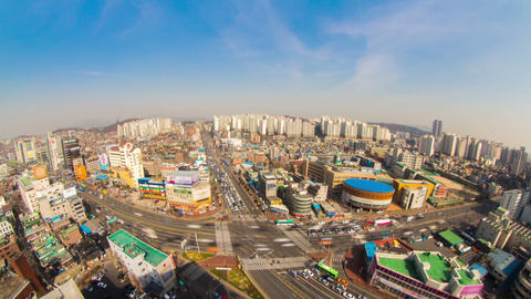 Seoul City 187 HD Stock Video Footage