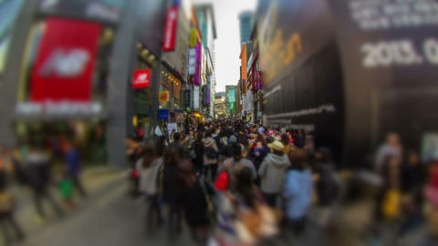 Seoul City 196 HD Stock Video Footage