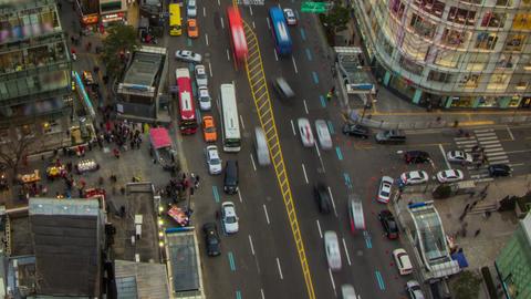 Seoul City 201 Zoom HD Stock Video Footage