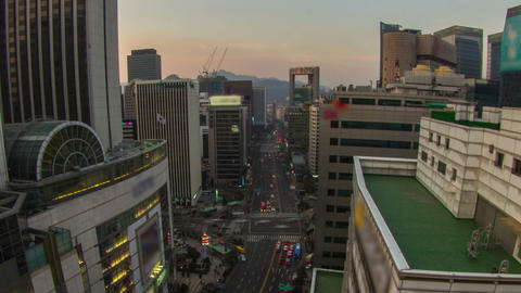 Seoul City 206 Zoom HD Footage