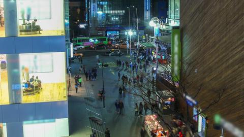 Seoul City 211 Zoom HD Stock Video Footage