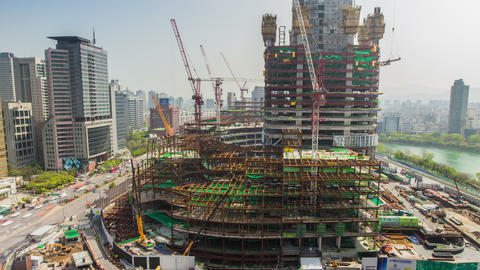 Seoul City 225 HD Footage