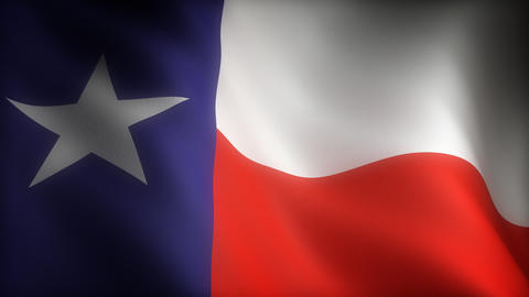 Flag of Texas Animation