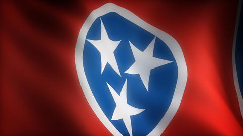 Flag of Tennessee Animation