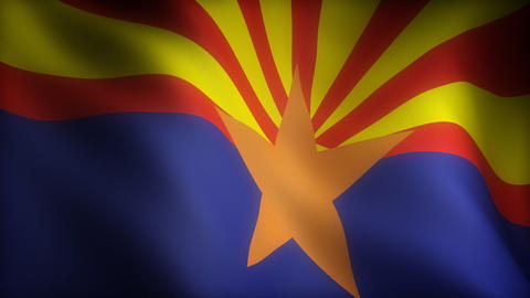Flag of Arizona Animation