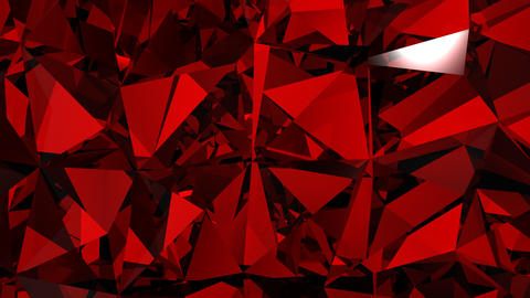 Diamonds red background with flares. HD 1080. Loop Stock Video Footage