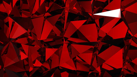 Diamonds red background with flares. HD 1080. Loop Animation