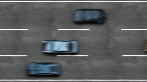 Road traffic on a highway, HD 1080, Loop Stock Video Footage