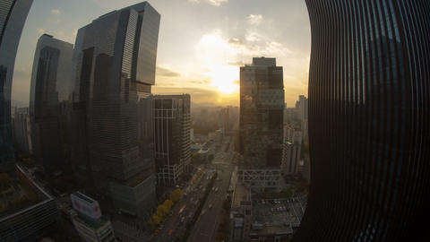 Seoul City 30 HD Stock Video Footage