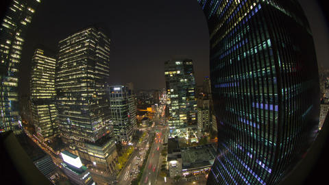 Seoul City 33 HD Stock Video Footage