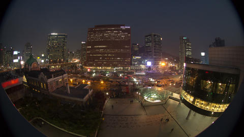 Seoul City 59 HD Stock Video Footage
