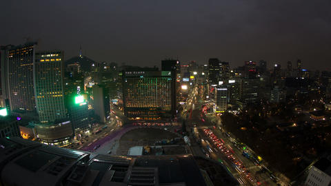 Seoul City 70 Stock Video Footage