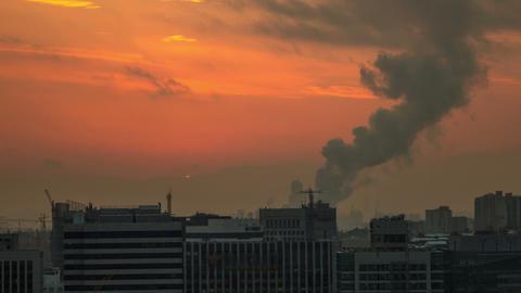 Seoul City 77 HD Stock Video Footage