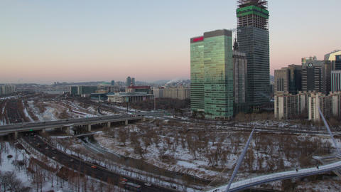 Seoul City 97 HD Footage