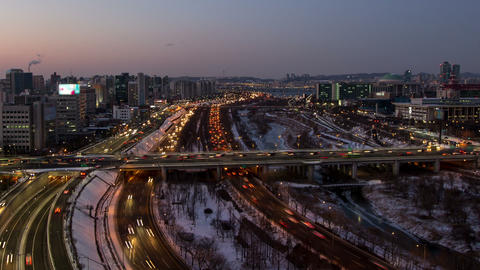 Seoul City 98 Zoom Footage
