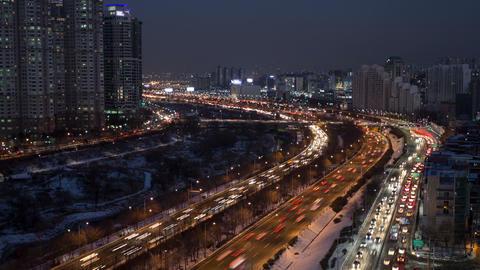 Seoul City 110 HD Stock Video Footage