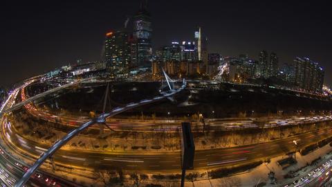 Seoul City 120 Zoom Footage