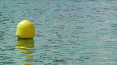 Buoy in the Water 1 Footage