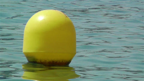 Buoy in the Water 3 Stock Video Footage