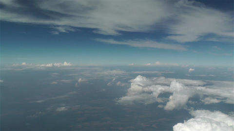 Clouds Aerial 2 Stock Video Footage