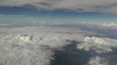 Clouds Aerial 4 Footage