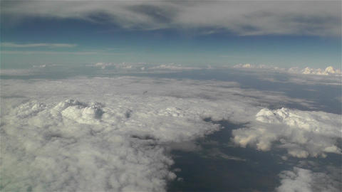 Clouds Aerial 4 Stock Video Footage
