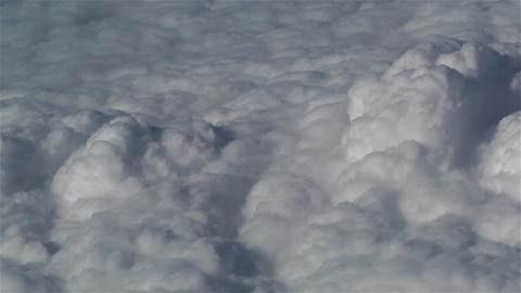 Clouds Aerial 6 Stock Video Footage