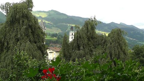 European Alps Kitzbuhel Austria 1 Footage
