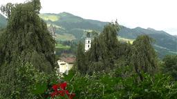 European Alps Kitzbuhel Austria 1 Stock Video Footage