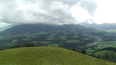 European Alps Kitzbuhel Austria 21 stock footage