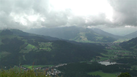 European Alps Kitzbuhel Austria 23 Stock Video Footage