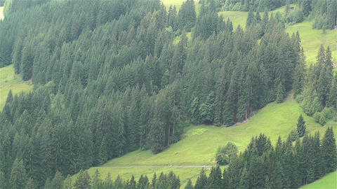 European Alps Kitzbuhel Austria 25 stock footage
