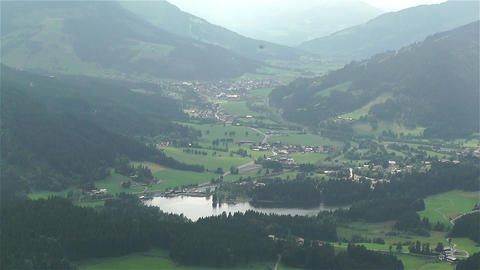European Alps Kitzbuhel Austria 50 stock footage